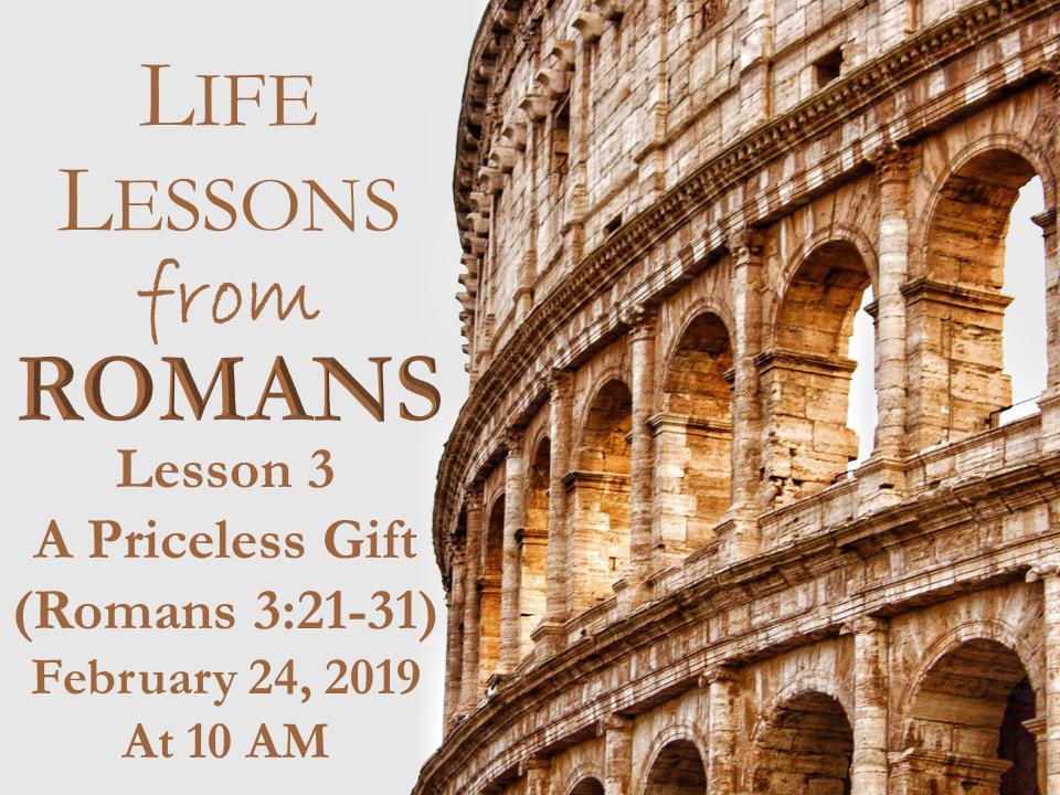 Romans Life Lessons 3