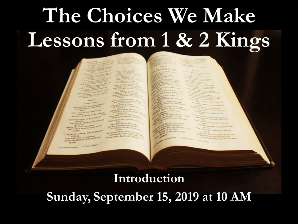 Choices Lesson 7 1-2kings